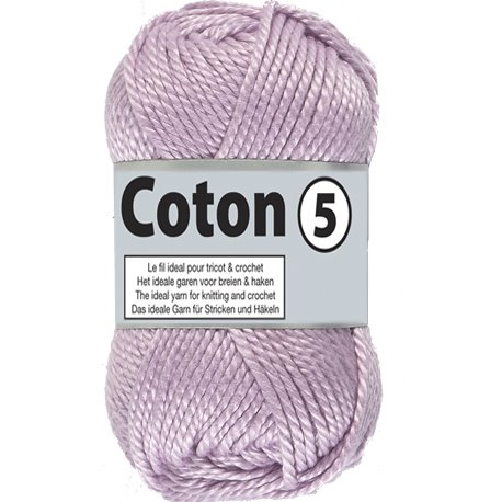 Coton 5 - lila (063)