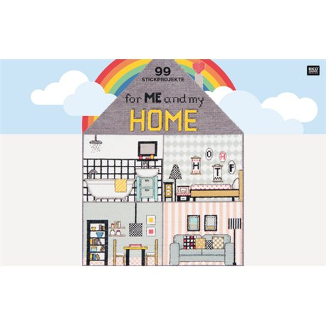 99 Stickprojekte – for me and my Home (Duits talig)