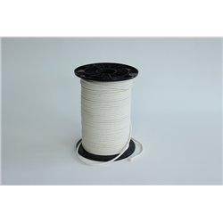 Gevlochten katoentouw - 3 mm - 1 meter touw
