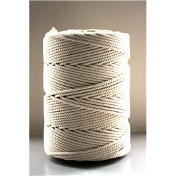Cotton Twine - Écru - 5 mm (2 kg)