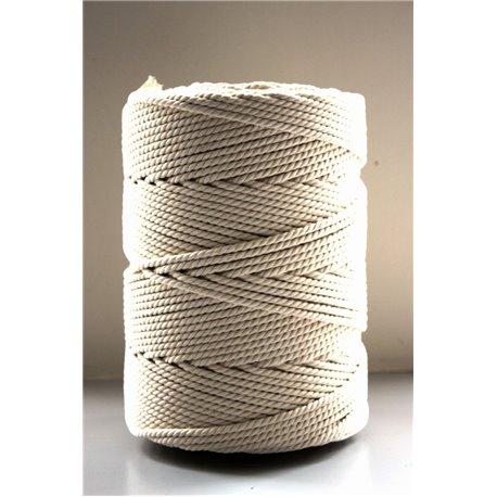 Cotton Twine - Écru - 5 mm (2 kg)