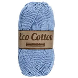 Eco Cotton - licht blauw (011)