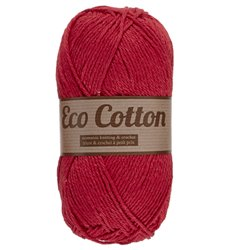Eco Cotton - rood (043)