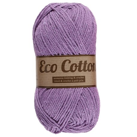 Eco Cotton - paars (064)