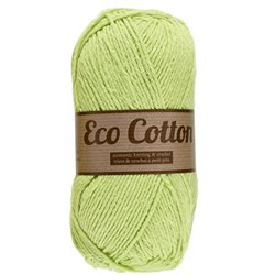 Eco Cotton - appeltjes groen (071)