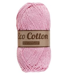 Eco Cotton - licht roze (710)