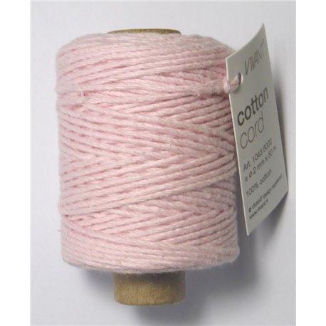 Cotton cord - Licht Roze