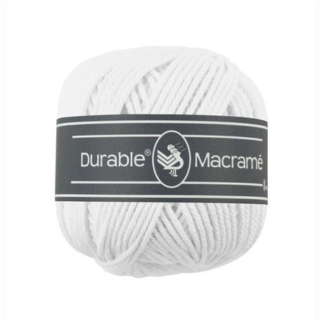 Durable Macramé - White (310)