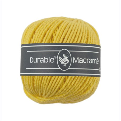 Durable Macramé - Bright Yellow (2180)