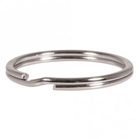 Sleutelhanger ring - metaal - 30 mm