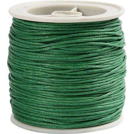 Gewaxt katoen - groen