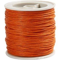 Gewaxt katoen - oranje