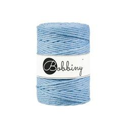 Getwijnd katoen - 5 mm - Baby Blauw