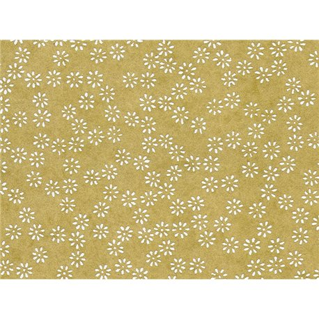 Washi papier motief bloemen - JP0252