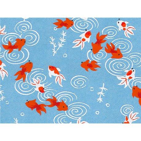 Washi papier motief vissen - JP0503