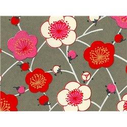 Washi papier motief bloemen - JP0561