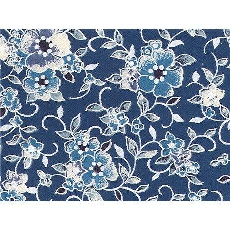 Washi papier motief bloemen - JP0529
