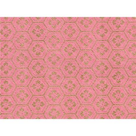Washi papier motief bloemen en lijnen - JP0220