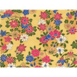 Washi papier motief bloemen - JP0537