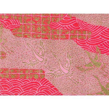 Washi papier motief kraanvogels - JP0608