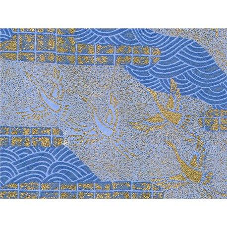 Washi papier motief kraanvogels - JP0609