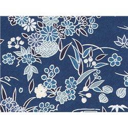 Washi papier motief bloemen - JP0531