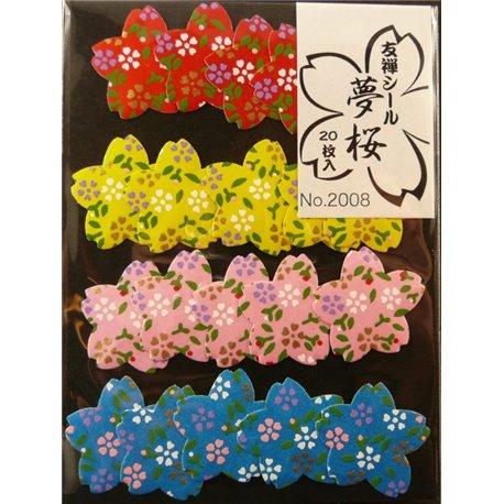 Washi sticker - Bloemen (Sakura)