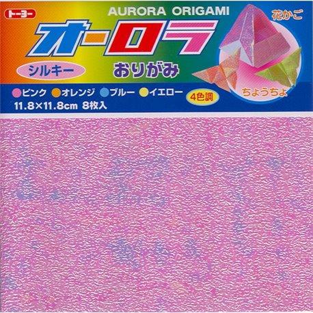 Origami papier 11,8x11,8 cm - Aurora
