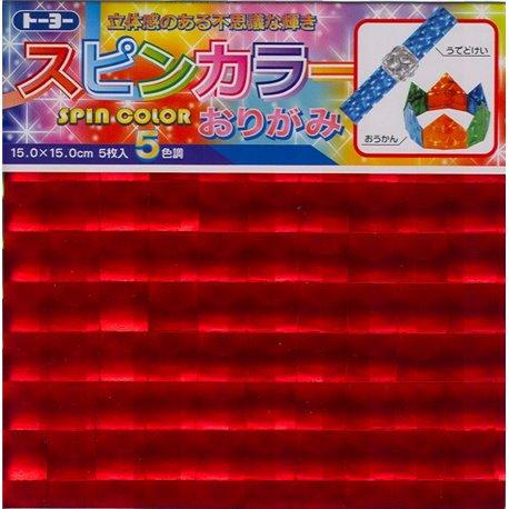 "Origami papier 15x15 cm - ""Spiegels"""