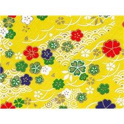 Washi papier motief bloemen - JP0680
