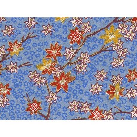 Washi papier motief bladeren - JP0690