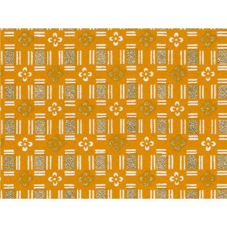 Washi papier motief blokken en bloemen - JP0280