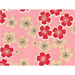 Washi papier motief Sakura bloemen - JP0700