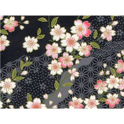 Washi papier motief Sakura bloemen - JP0710
