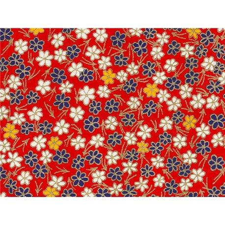 Washi papier motief bloemen - JP0730