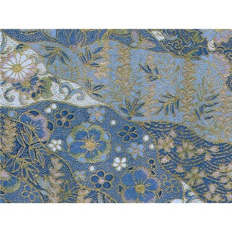 Washi papier motief vlinders en bloemen - JP0760