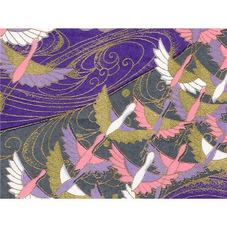 Washi papier motief kraanvogels - JP0800