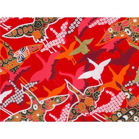 Washi papier motief kraanvogels - JP0830