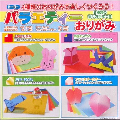 Origami papier 15x15 cm - Diverse soorten