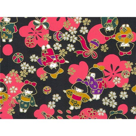 Washi papier motief Geisha's - JP0840