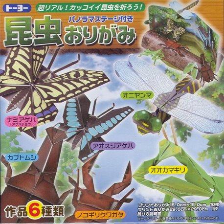 Origami papier - Insecten vouwen