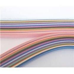 Filigraan papier 25 kleuren ~ 16mm