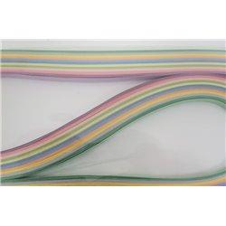 Filigraan papier 11 pastel kleuren ~ 13mm