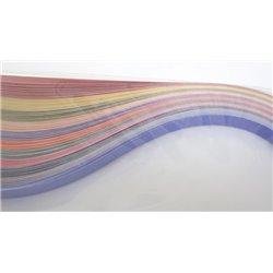Filigraan papier 11 harmony kleuren ~ 16mm
