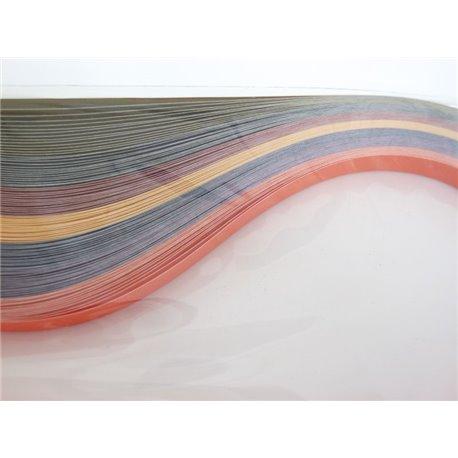 Filigraan papier 7 twee kleuren ~ 10mm