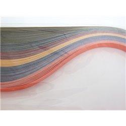 Filigraan papier 7 twee kleuren ~ 13mm