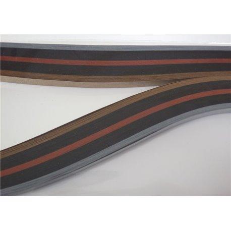 Filigraan papier 7 metallic kleuren met glans ~ 13mm