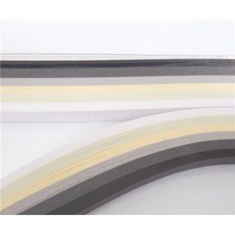 Filigraan papier zwart wit ~ 6mm