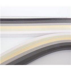 Filigraan papier zwart wit ~ 13mm