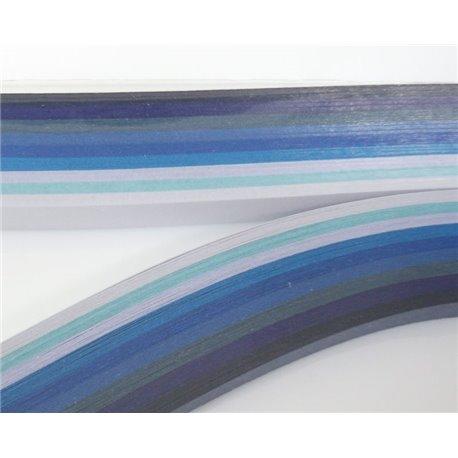 Filigraan papier blauw ~ 13mm